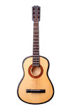 Miniature acoustic guitar Royalty Free Stock Images