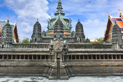 Miniature of Angkor Wat Royalty Free Stock Photo