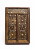 A miniature arabic door. Royalty Free Stock Images
