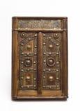 A miniature arabic door. A miniature, wooden arabic door Royalty Free Stock Images