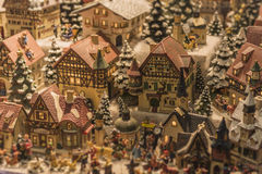 Miniature Austrian Village Royalty Free Stock Photos