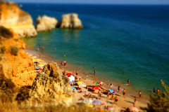 Miniature of a beach Stock Photography