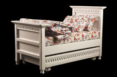 Miniature bed Royalty Free Stock Photo