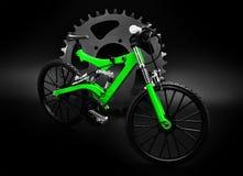 Miniature bike Stock Image