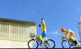 Miniature bike race Stock Photos