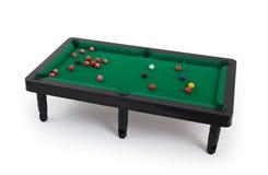 Miniature billiard table Stock Photo
