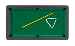 Miniature billiard table Royalty Free Stock Photos