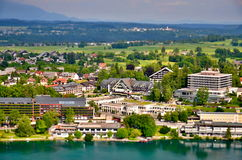 Miniature of Bled town Stock Photography