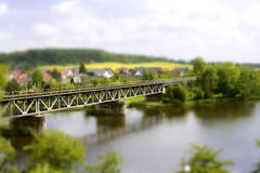 Miniature Bridge Stock Images