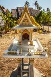 Miniature buddhist temple Stock Photography