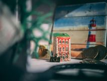 Miniature Building Royalty Free Stock Photography