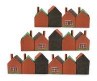 Miniature Buildings Royalty Free Stock Photo