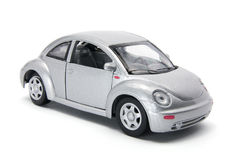 Miniature Car. On White Background Stock Images