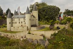 Free Miniature Celles Veves Castle In Belgium At The Park Mini Europe. Royalty Free Stock Photography - 164747167