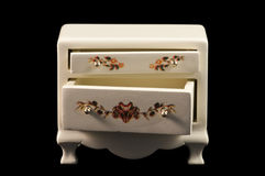 Miniature chest of draws Royalty Free Stock Photo