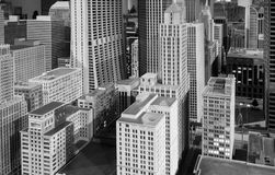 Free Miniature Chicago Downtown Buildings And Skyscrapers Installatio Royalty Free Stock Images - 101654449