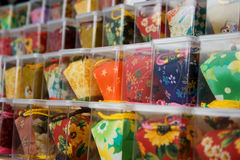Miniature Chinese Lanterns Royalty Free Stock Photos