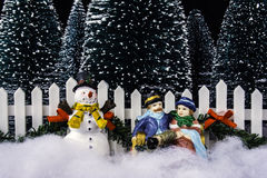Miniature Christmas Royalty Free Stock Images