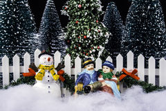 Miniature Christmas Stock Photos