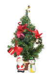 Miniature Christmas tree Royalty Free Stock Photography