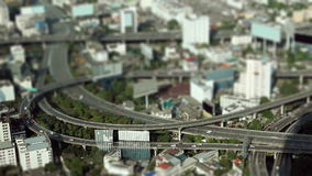 Miniature city stock footage