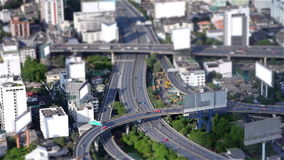 Miniature city stock video footage