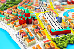 Miniature city Royalty Free Stock Photo