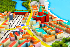 Miniature city Stock Photography