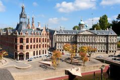 Miniature city Madurodam Royalty Free Stock Images