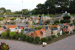 Miniature city Madurodam, The Hague, Netherlands Stock Photo