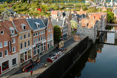 Miniature city Madurodam, The Hague, Netherlands Stock Photos