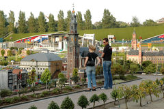 Miniature city Madurodam, The Hague, Netherlands Royalty Free Stock Photography