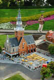 Miniature city Madurodam, The Hague, Netherlands Stock Images