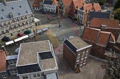 Miniature city Madurodam. The Hague, Netherlands. Stock Photography