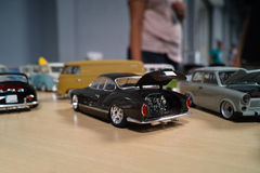 Miniature of classic cars Stock Image
