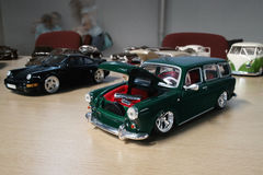 Miniature of classic cars Stock Photography