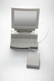 Miniature Computer Royalty Free Stock Image