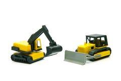 Miniature Construction Toys Royalty Free Stock Photos