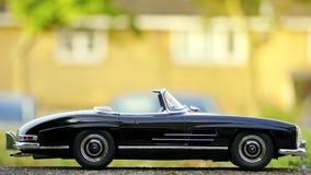 Miniature Convertible Car Royalty Free Stock Photos