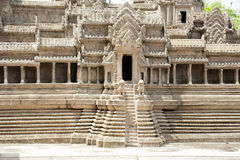 Miniature copy of Angkor Wat Temple at Wat Phra Kaeo, Temple of Royalty Free Stock Photography