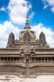 Miniature copy of Angkor Wat Temple at Wat Phra Kaeo, Temple of Stock Image