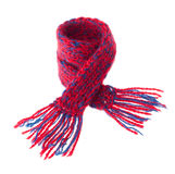 Miniature Copy of the Winter Scarf Stock Image