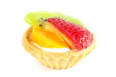 Miniature Cupcake Tarts royalty free stock photography