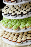 Miniature cupcakes Royalty Free Stock Photos