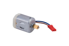 Miniature DC motor Stock Images