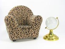 Miniature de fauteuil Photographie stock libre de droits