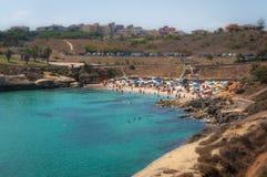 Miniature de plage de Balai Image libre de droits