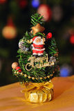 Miniature decorated tree Stock Photo