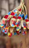 Miniature decorative shoes Royalty Free Stock Photos