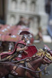 Miniature des soldats romains d'empire Photos stock